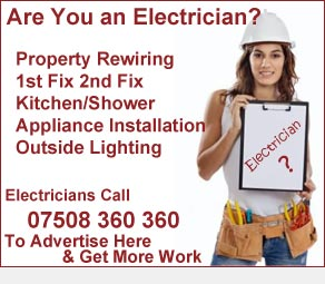 Electrician Advertising Durham