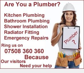 Plumber Advertising North East